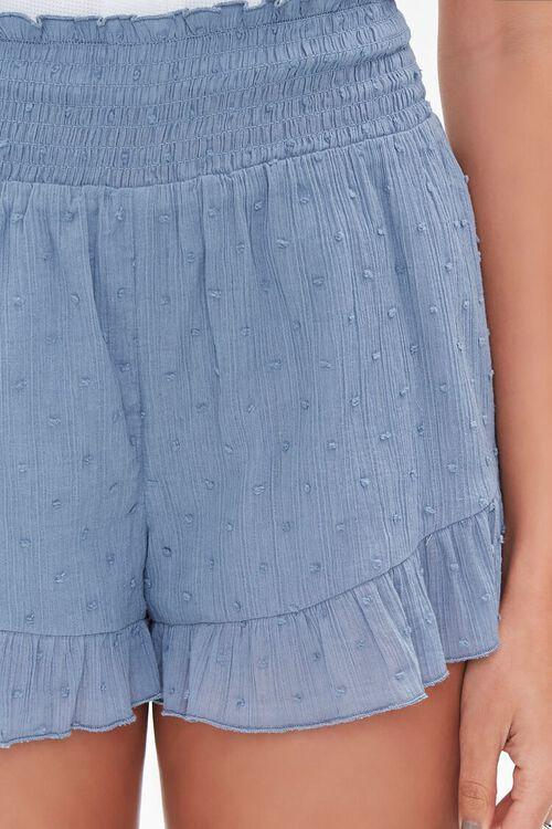 Ruffle-Trim High-Rise Shorts, image 6