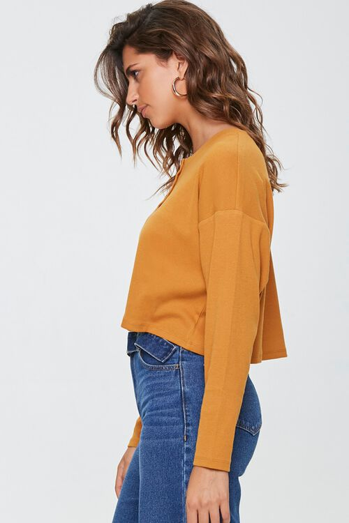 Cropped Henley Top, image 2