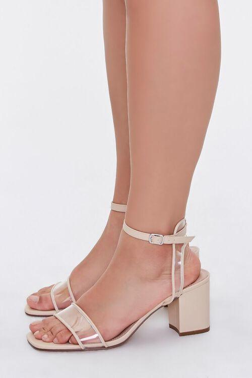 Clear-Strap Block Heels (Wide), image 2