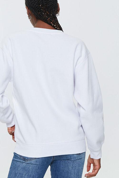 WHITE/MULTI Angel Graphic Pullover, image 3