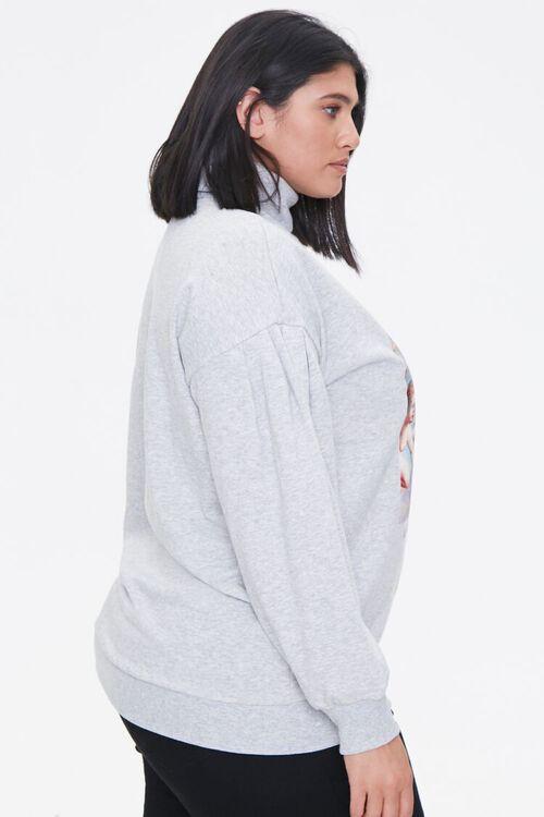 Plus Size Cherub Graphic Sweatshirt, image 2