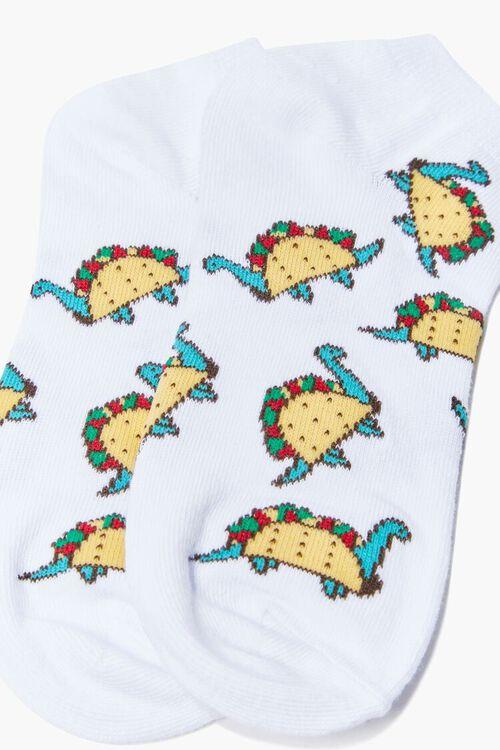 Dino Taco Ankle Socks, image 3