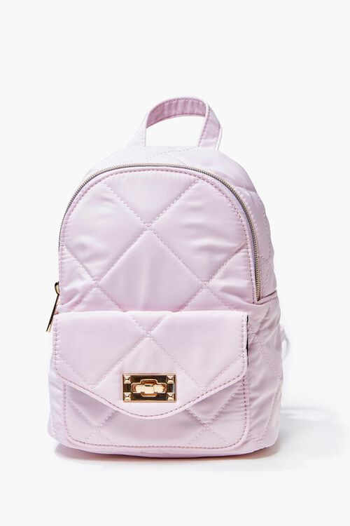 Quilted Mini Backpack, image 1