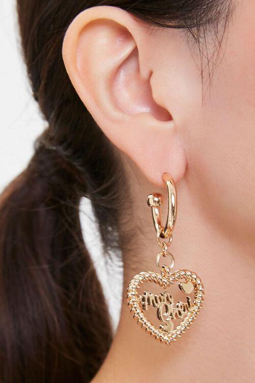 Mon Cheri Heart Earrings, image 1