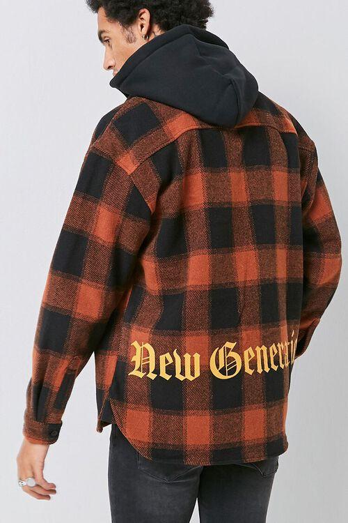 Plaid Hooded Jacket, image 4