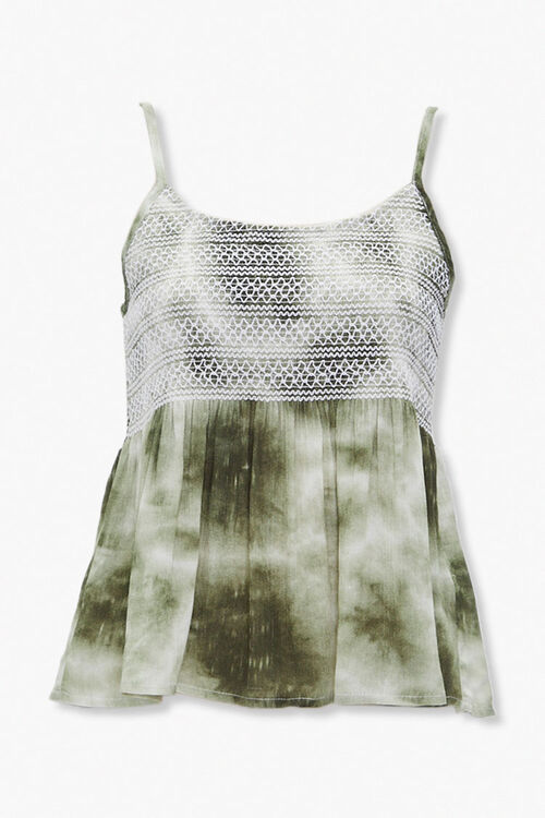 Tie-Dye Topstitched Cami, image 5
