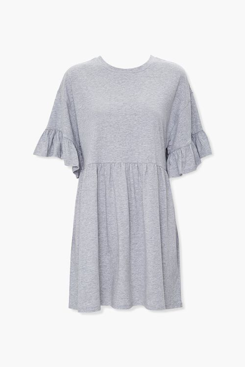 Flounce Trim Swing Dress, image 1