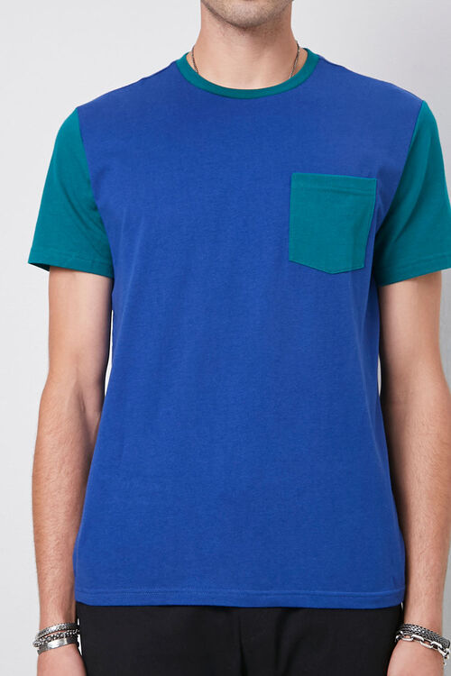 Colorblocked Cotton Tee, image 5