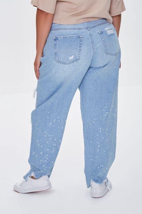 Plus Size Distressed Boyfriend Jeans, image 4