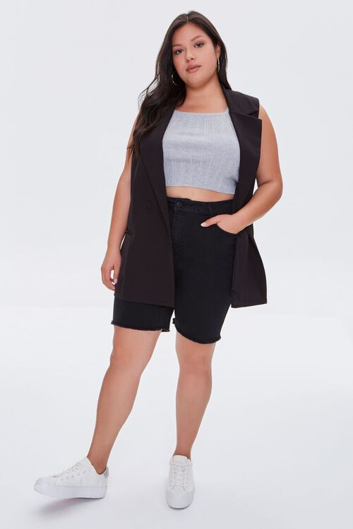 Plus Size Double-Breasted Vest, image 4