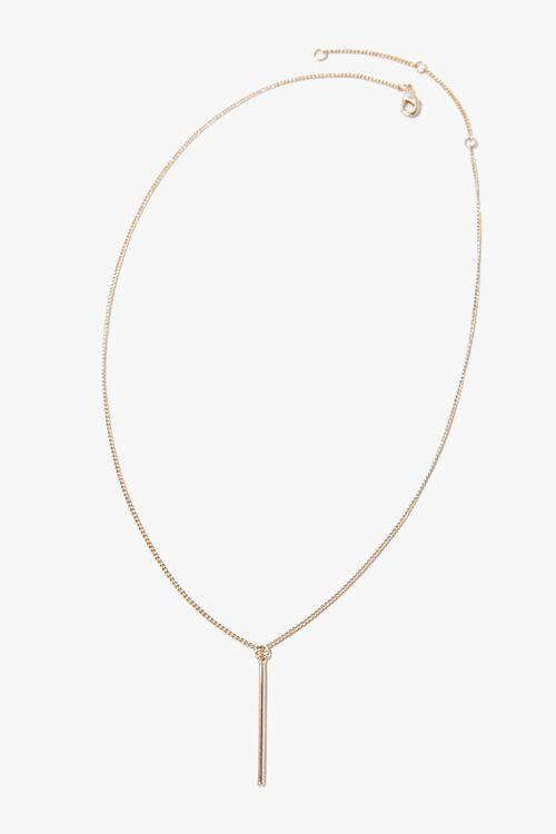 Matchstick Pendant Necklace, image 3