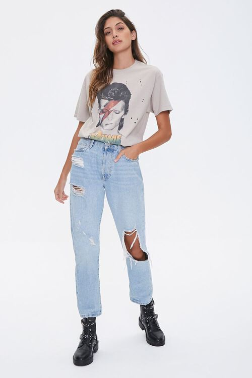 Distressed Bowie Graphic Tee, image 4
