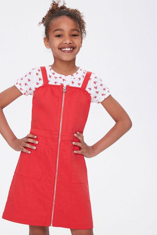 Girls Zip-Front Dress (Kids), image 1