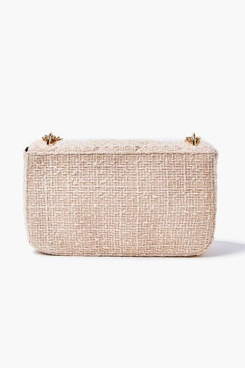 CREAM Quilted Dual-Strap Shoulder Bag, image 3