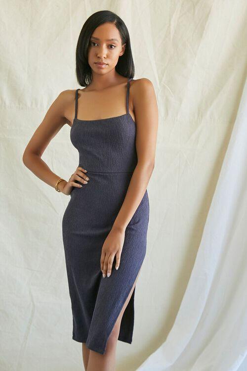 NAVY Lace-Back Cami Dress, image 2