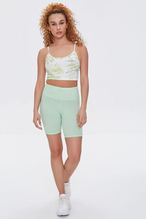 Active Tie-Dye Cropped Cami, image 4