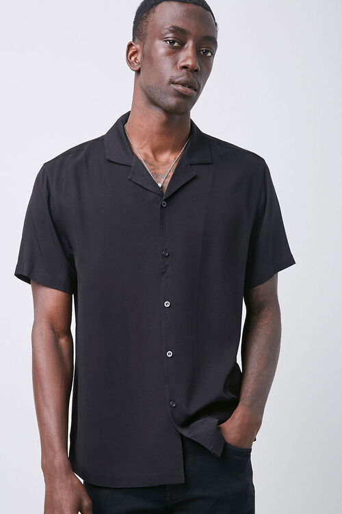 Cuban Collar Shirt, image 1