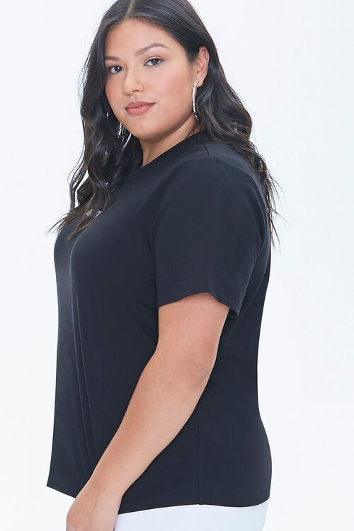 Plus Size Stand Up To Cancer Lover & Fighter Tee, image 2