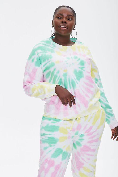 Plus Size Tie-Dye Sweatshirt, image 1