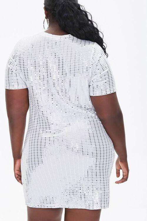 Plus Size Sequin Mini Dress, image 3