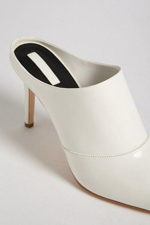 Faux Patent Leather Stiletto Mules, image 6