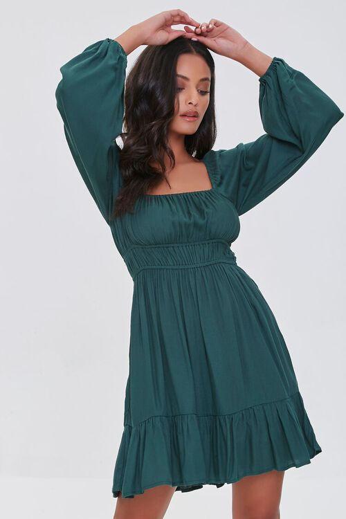 Peasant Mini Dress, image 1