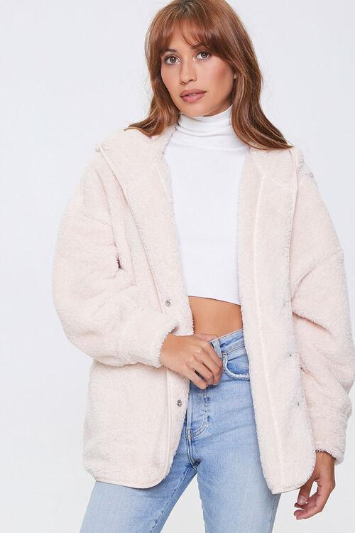 Plush Hooded Jacket, image 1