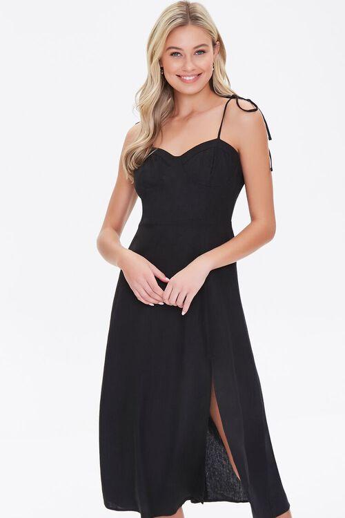 Sweetheart Tie-Strap Dress, image 1