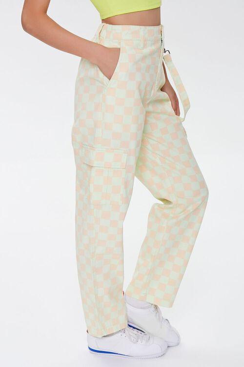 Checkered Cargo Pants, image 3