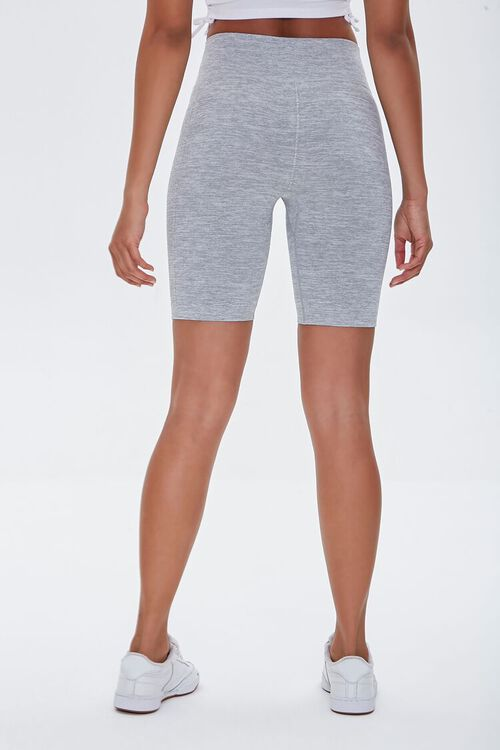 Active Seamless Heathered Biker Shorts, image 4