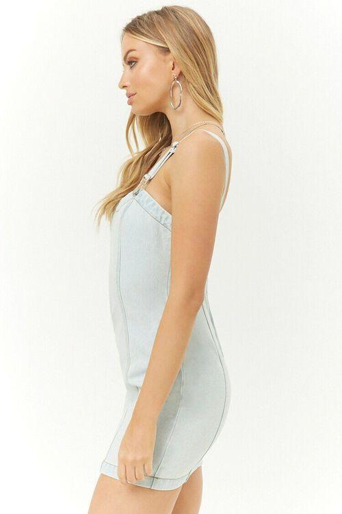 Denim Overall Dress, image 2