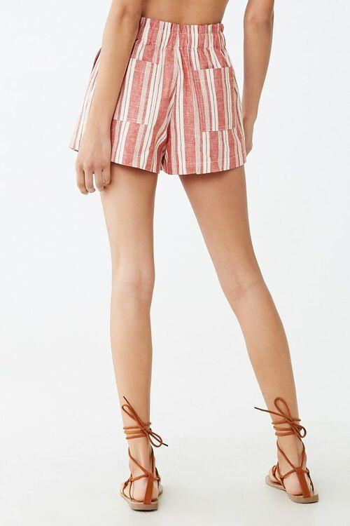 Linen-Blend Striped Shorts, image 4