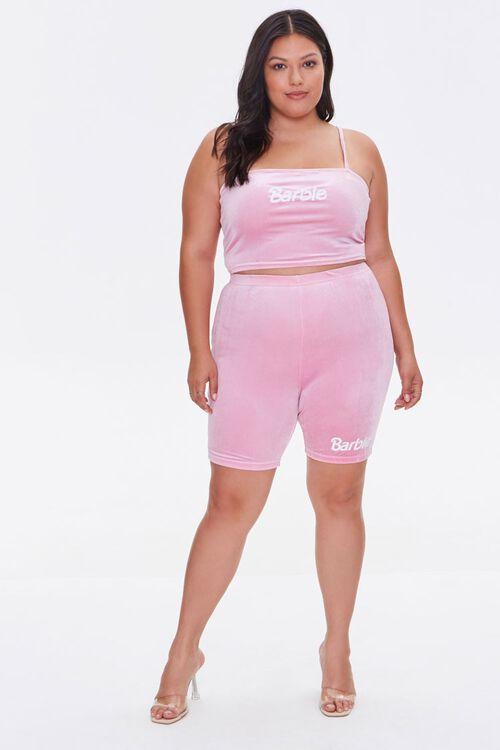 Plus Size Barbie™ Biker Shorts, image 5