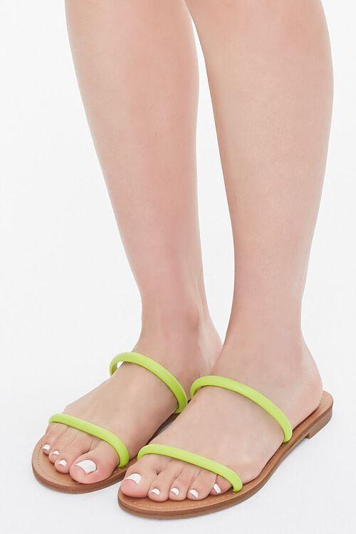 Dual-Strap Flat Sandals, image 1