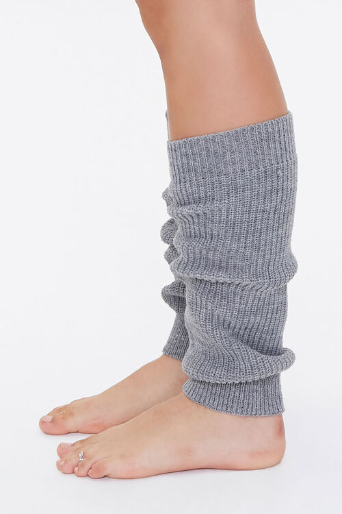 Ribbed Knit Leg Warmers, image 2