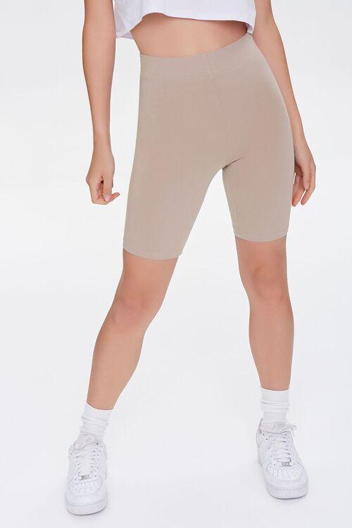 Organically Grown Cotton Biker Shorts, image 2