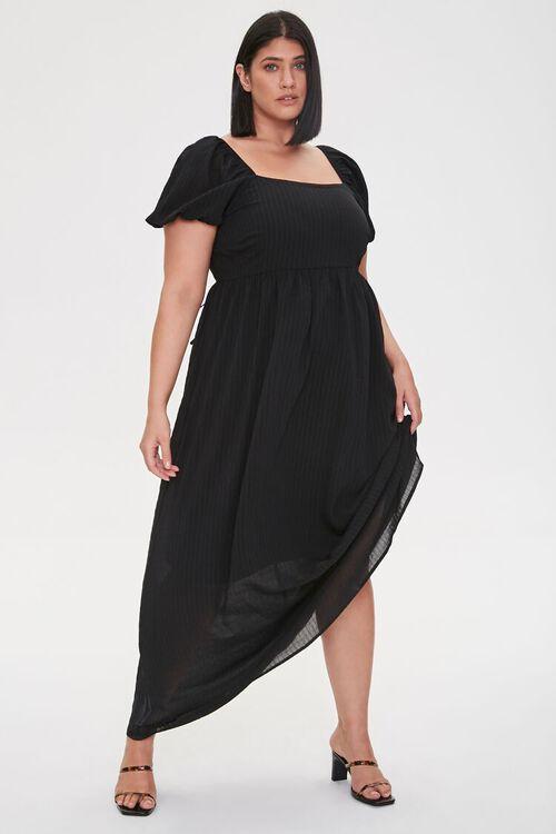 Plus Size Cutout-Back Maxi Dress, image 2