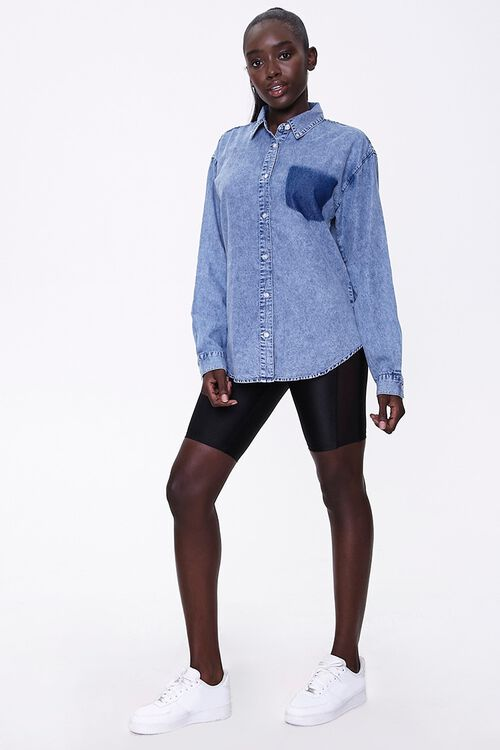 Mineral Wash Denim Shirt, image 4