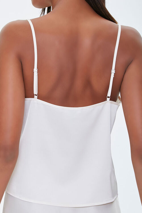 Relaxed-Fit Satin Cami, image 3