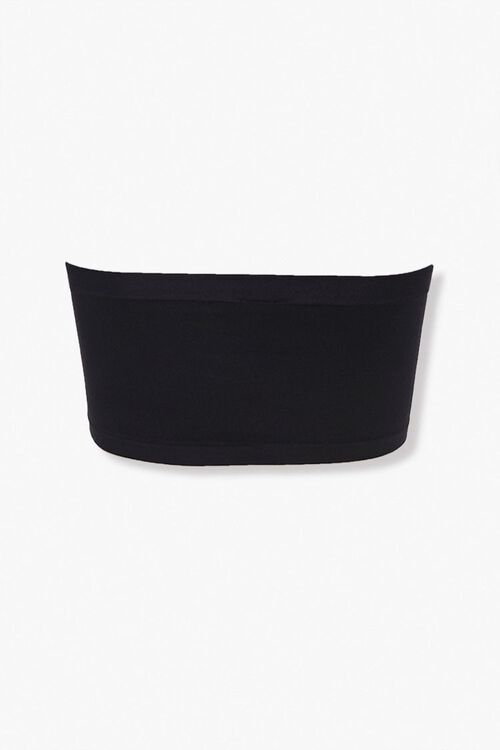 Seamless Textured Knit Bandeau, image 2