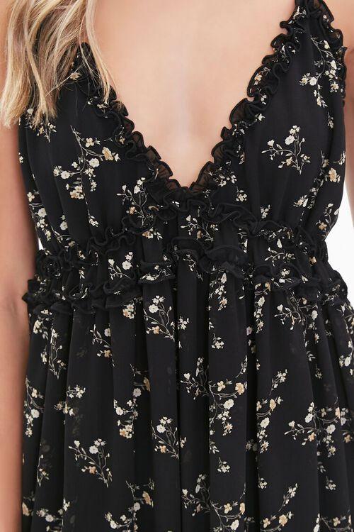 Floral Print Chiffon Dress, image 5