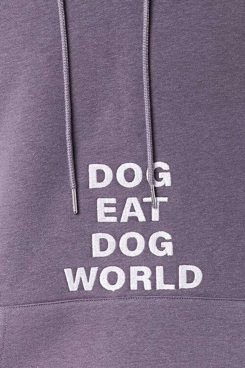 Dog World Embroidered Graphic Hoodie, image 5