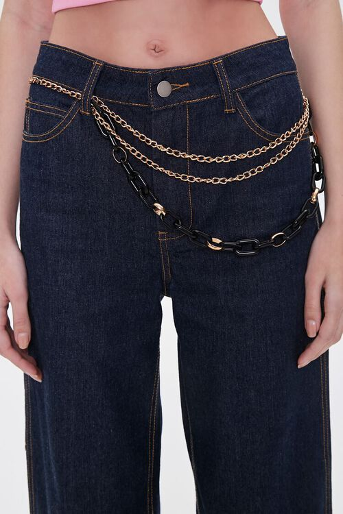 Layered Chain Hip Belt, image 1