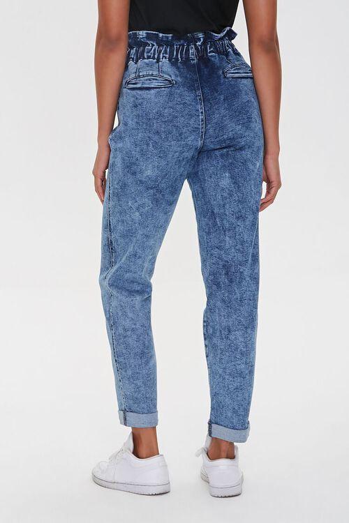 MEDIUM DENIM Paperbag Drawstring Jeans, image 4