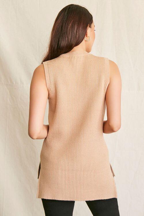 OATMEAL Sweater-Knit Tank Top, image 3