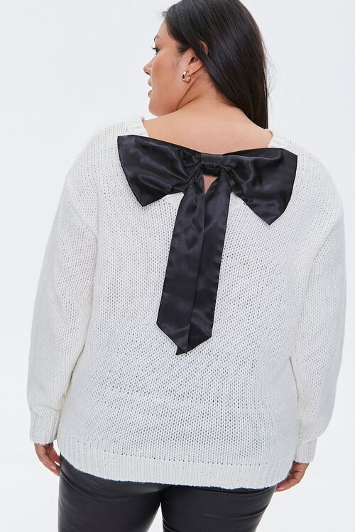 Plus Size Bow Sweater, image 4