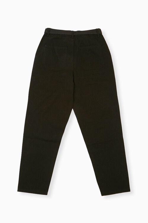 BLACK Belted Ankle Pants, image 2