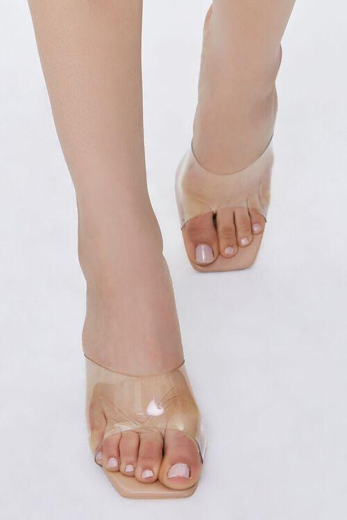 Translucent Lucite Stiletto Heels, image 4