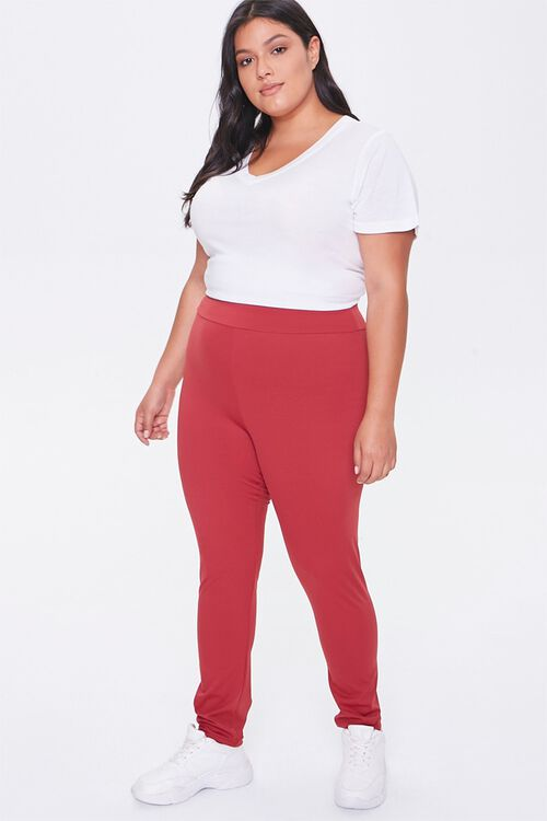 Plus Size Active High-Rise Leggings, image 5