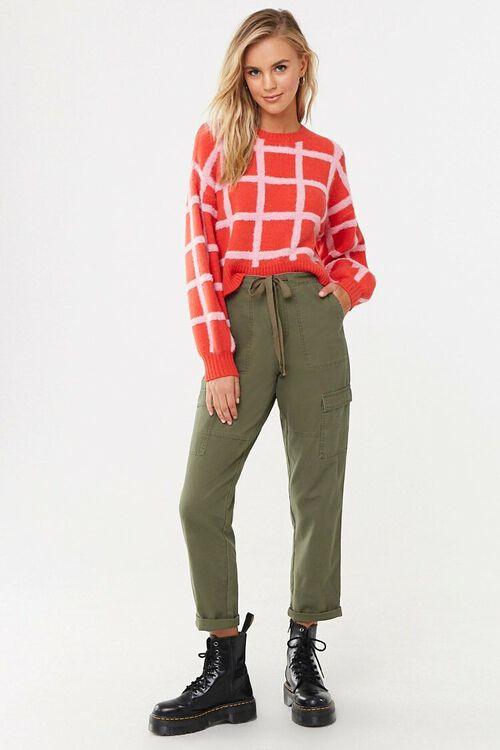 Grid Print Sweater, image 4